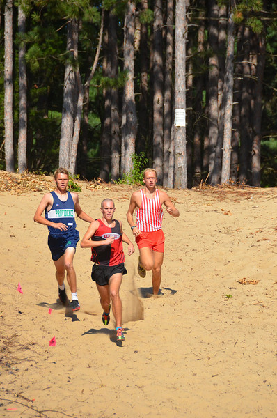 Coed Cross Country - 8/29/2012 Kent City (Photographer: Cliff Somers)