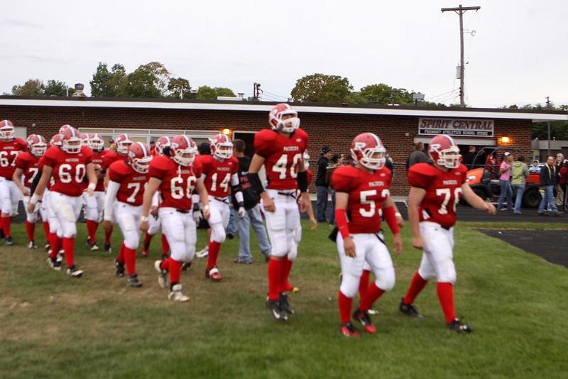Boys Varsity Football - 9/16/2011 Grant