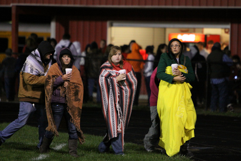 9/30/2011 - Presentation of 2011 Homecoming Court