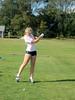 Golfing ballerina Girls Golf - Fall 2012 Miscellaneous (Photographer: Rick Content)