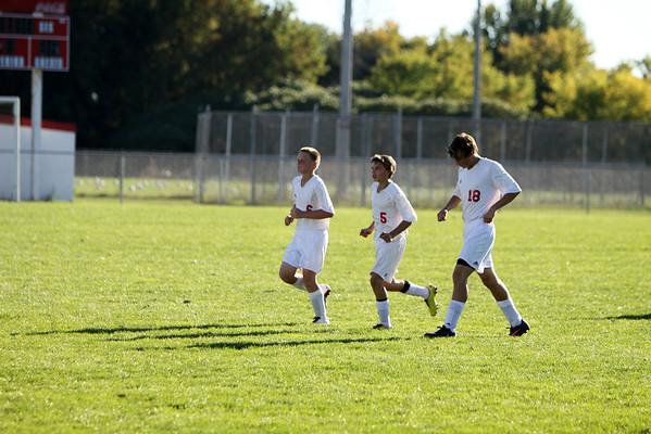 Boys JV Soccer - 9/26/2013 Big Rapids