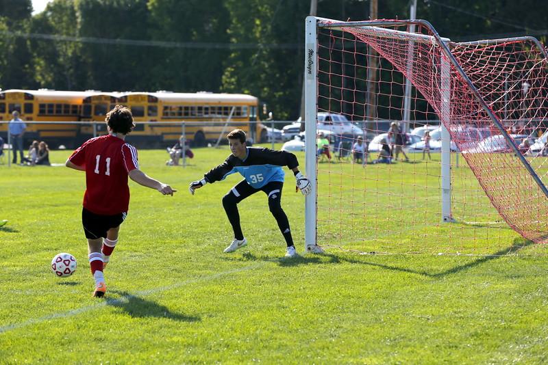 Boys Varsity Soccer - 9/15/2015 Spring Lake