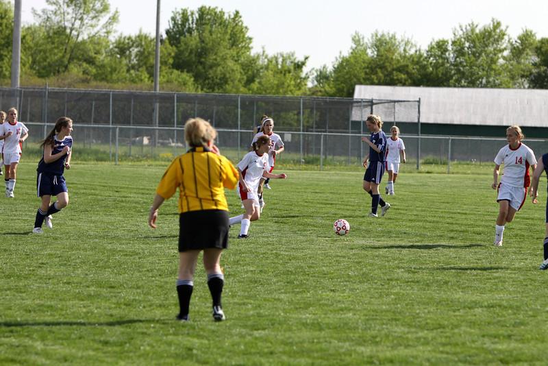 Girls Varsity Soccer - 5/20/2011 Manistee