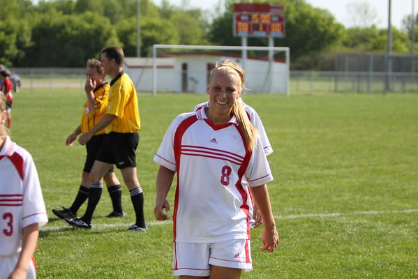 Girls JV Soccer - 5/18/2012 Reed City
