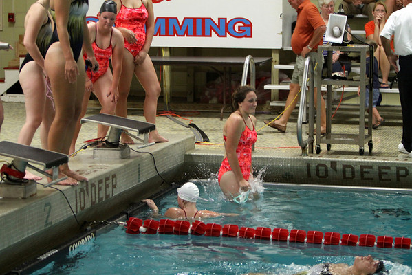 Girls Varsity Swimming - 9/11/2012 Muskegon Catholic