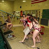 Girls Varsity Swimming - 10/28/2014 Ludington (Seniors Night)