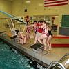 Girls Varsity Swimming - 10/28/2014 Ludington (Seniors Night)