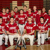2013-2014 Varsity Baseball Team (Photography by Geskus Photography)
