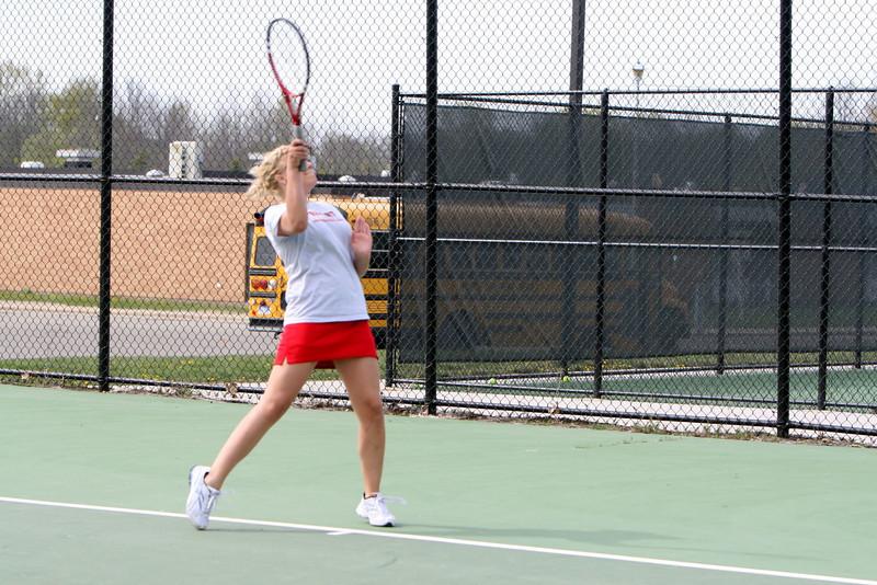 Girls Tennis - 4/23/2010 Manistee