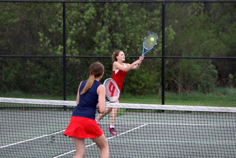 Girls Varsity Tennis - 5/8/2013 Big Rapids