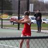 Girls Varsity Tennis - 4/23/2014 Spring Lake