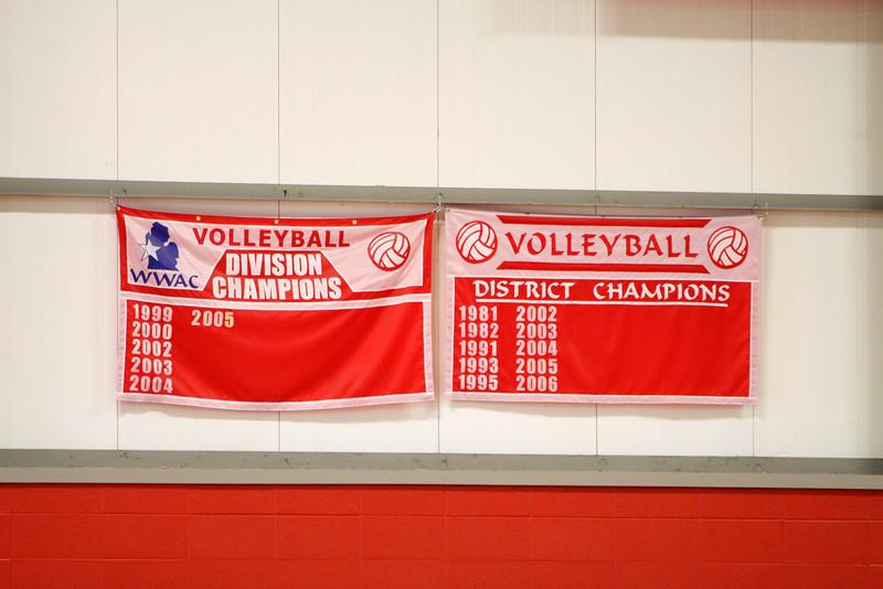 Girls JV Volleyball - 8/29/2012 Crossover Tri