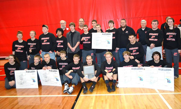 Wrestling - 2/7/2015 Conference (Photographer: Russ Tindall)