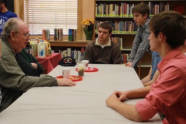 20151110  Veterans' Day Breakfast at TRHS