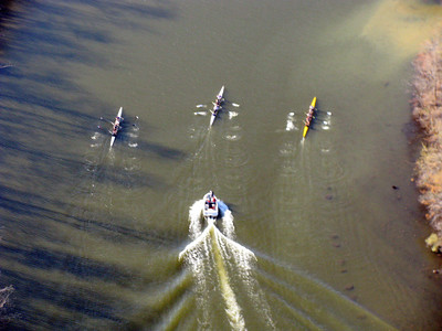 CLRA rowing pictures from the air