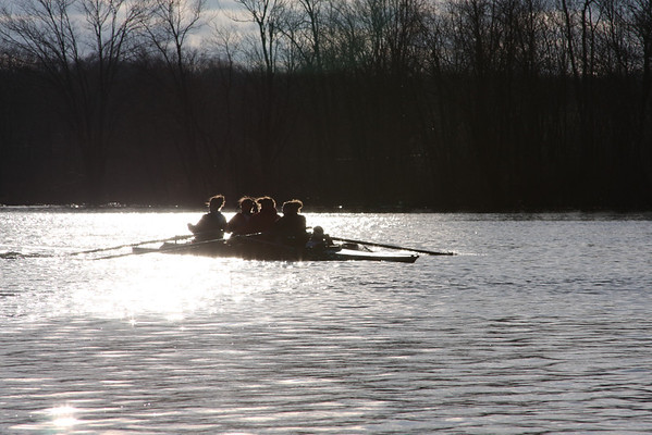 2011 HS Varsity rowing 3-28