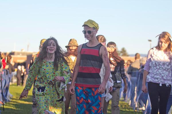 Fairfax Relays - Parade 10/8/13