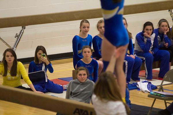 Gymnastics Milton vs. U-32 2/1/12