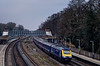 43010 / 43182 passing Farnborough with 1O40, the 06:45 Penzance - Waterloo, <br /> on 1st April 2013.
