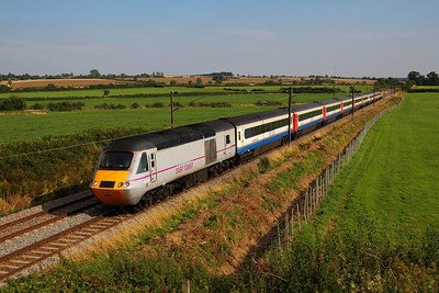 43319+43206 +EMT set on the 1S22 1500 London Kings Cross to Edinburgh at Marston on the 4th September 2013