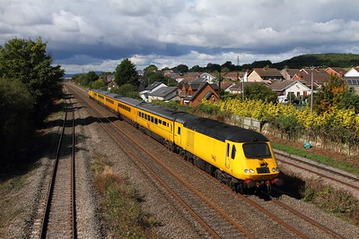 43013+43062 on the 1Z20 0555 Old Oak Common to Derby RTC via Swansea at Magor on the 18th September 2015