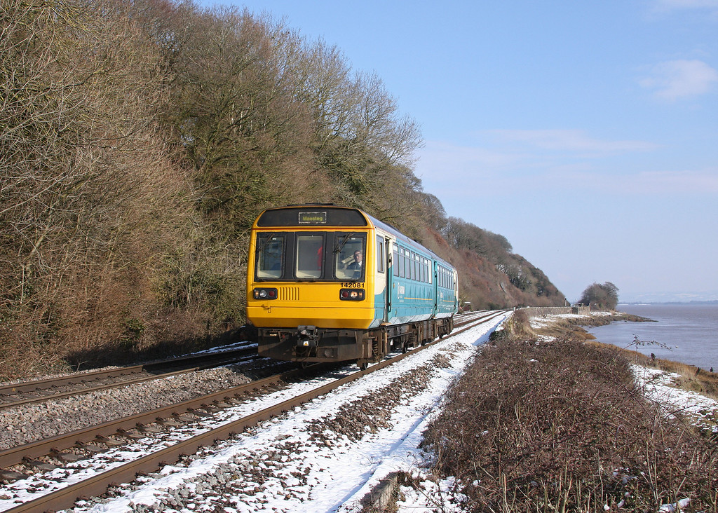 142081, 11.45 Cheltenham Spa-Maesteg, Gatcombe, near Lydney, 19-2-10.