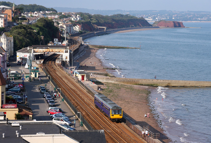 142064, 16.55 Exmouth-Paignton, Dawlish, 2-8-11.