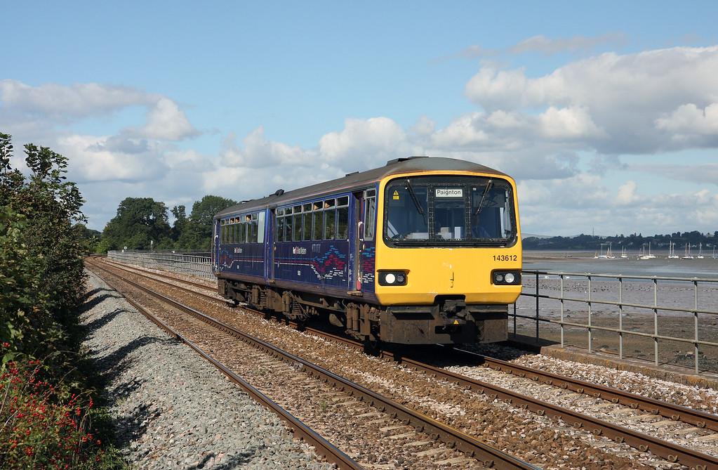 143612, 13.23 Exmouth-Paignton, Powderham, near Starcross, 24-9-14.
