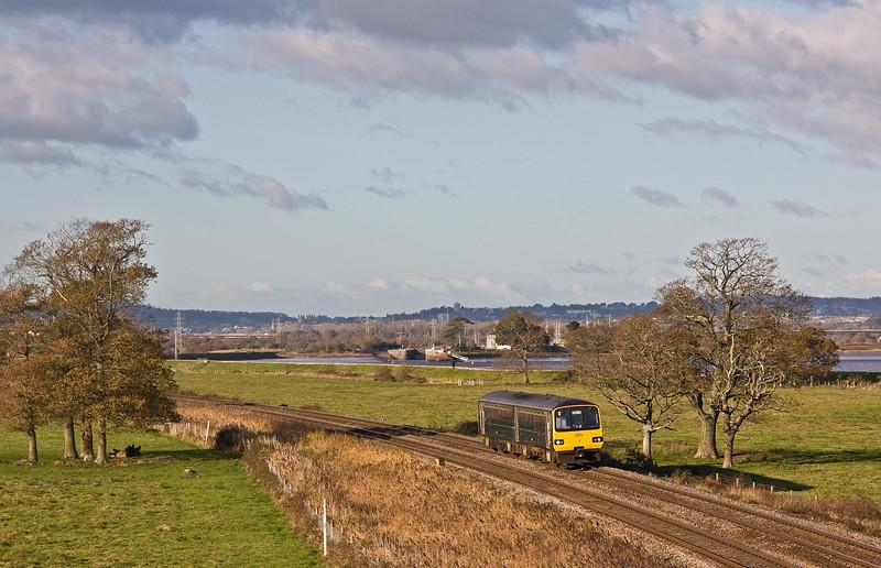 143611, 12.23 Exmouth-Paignton, Powderham, near Exeter, 1-12-17.