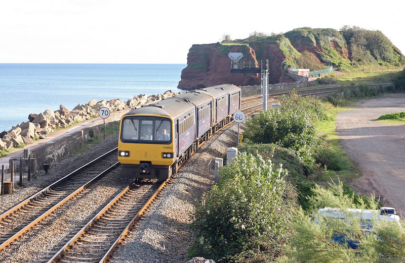 143603, 16.55 Paignton-Exmouth, Dawlish Warren, 14-9-12.