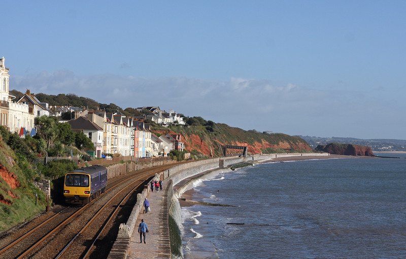 143620, 10.15 Paignton-Exmouth, Dawlish, 16-10-12.