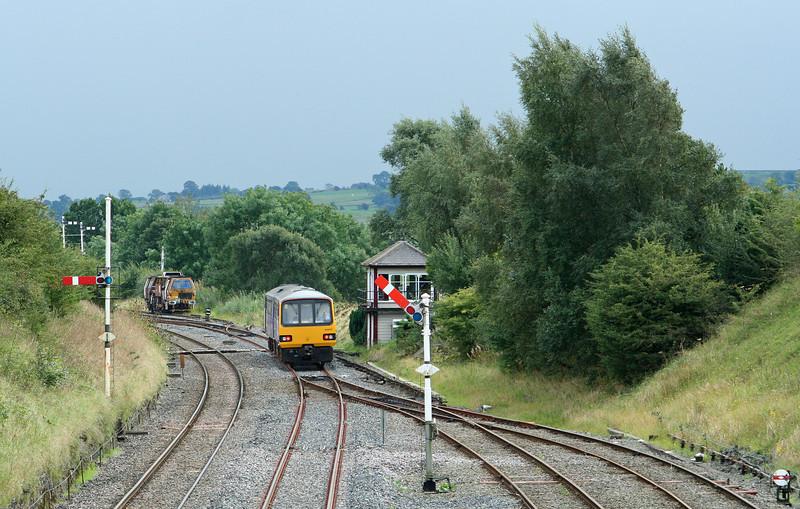 144007, 13.15 Heysham Port-Leeds, Settle Junction, 8-9-09.