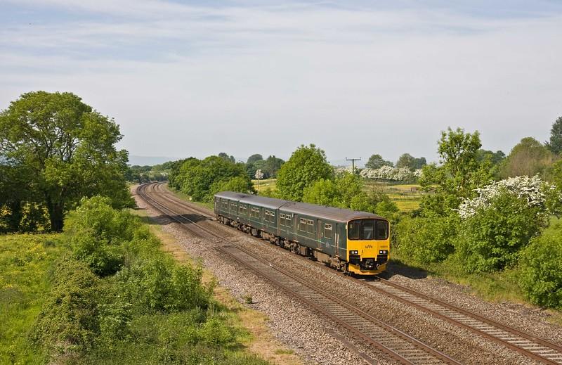 150002, 09.35 Taunton-Weston-super-Mare, Cogload, 21-5-18.