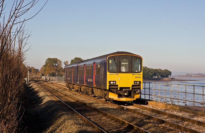 150108, 12.23 Exmouth-Paignton, Powderham, near Exeter, 29-11-16.