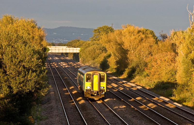 150281, 16.46 Cheltenham Spa-Maesteg, Coedkernow, near Newport, 8-10-15.