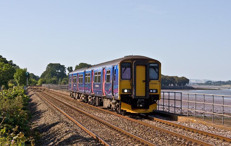 150265, 16.53 Exmouth-Paignton (late), Powderham, near Exeter, 17-6-17.