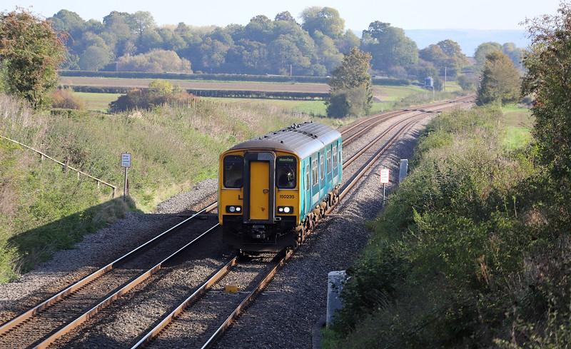150235, 10.45 Cheltanham Spa-Maesteg, Churcham, near Gloucester, 22-10-19.