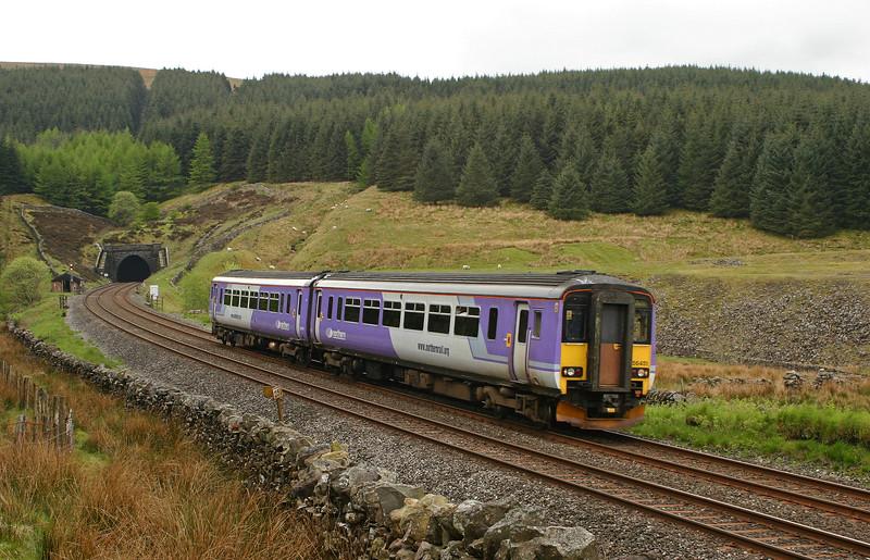 156451, Leeds-Carlisle, Blea Moor Tunnel, 20-5-05.