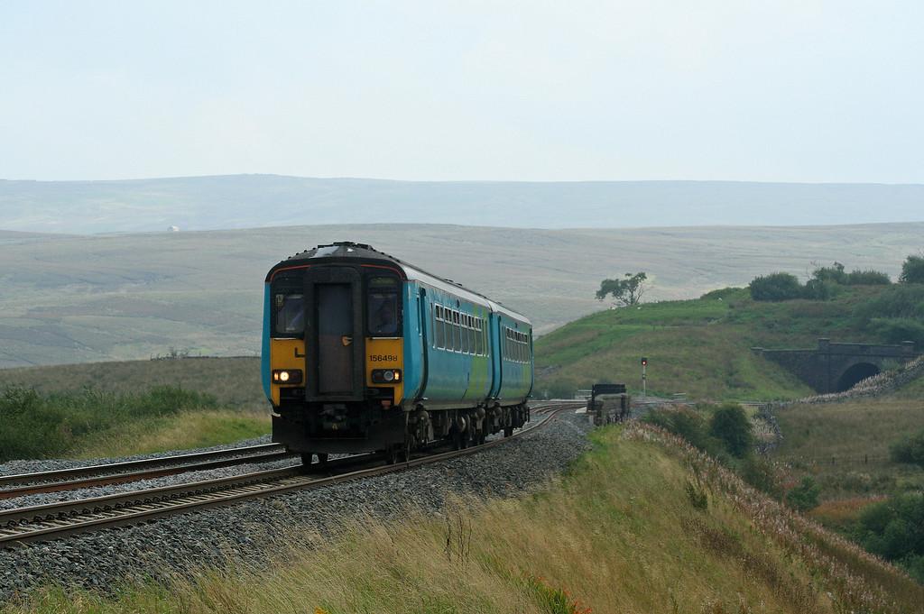 156498, Leeds-Carlisle, Grisedale Crossing, near Garsdale, 13-9-06.