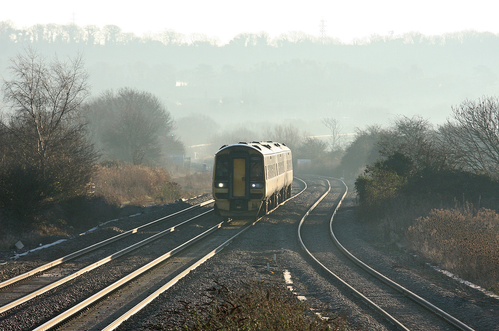 158954, 06.00 Portsmouth Harbour-Cardiff Central, Pilning, 15-1-13.