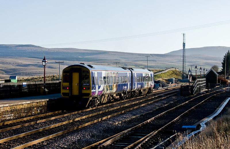 158793, 08.53 Carlisle-Leeds, Ribblehead, 20-11-13.