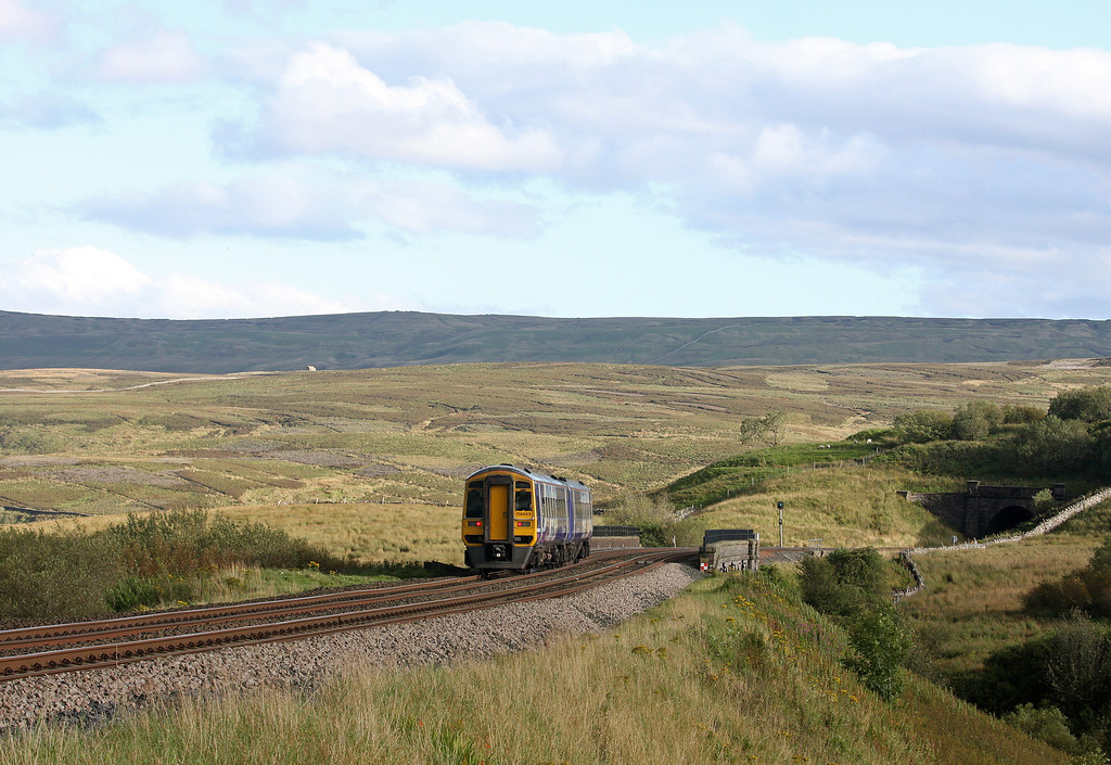 158903, Carlisle-Leeds, Lunds Viaduct, near Garsdale, 12-9-12.