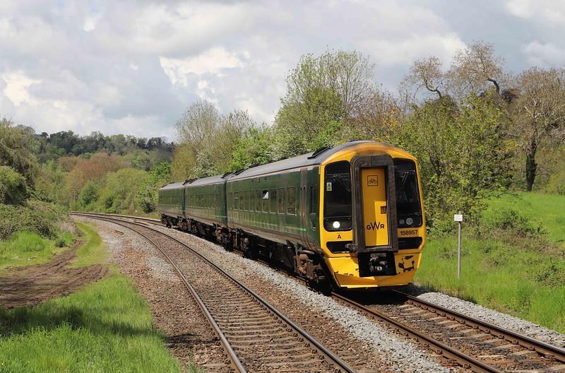 158957, 10.41 Great Malvern-Brighton, Freshford, near Bath, 19-5-21.
