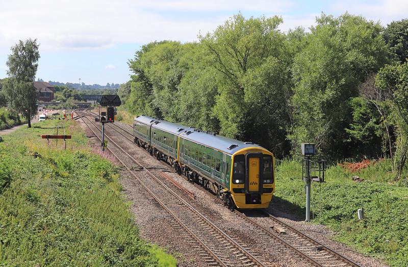 158952, 08.59 Brighton-Great Malvern, Hawkeridge Junction, Westbury, 2-8-18.
