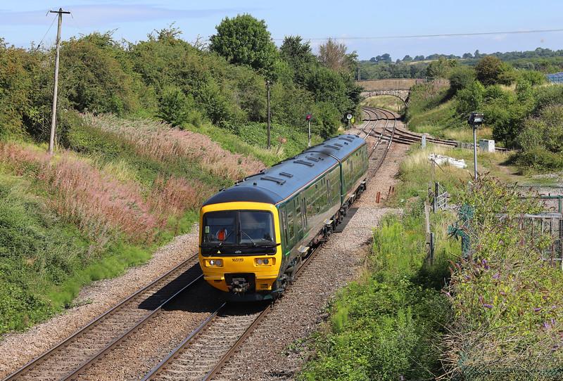 165119, 08.50 Great Malvern-Westbury, Hawkeridge Junction, Westbury, 2-8-18.