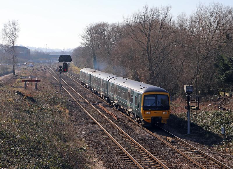 166213, 12.20 Westbury-Swindon, Hawkeridge Junction, Westbury, 14-2 -19.
