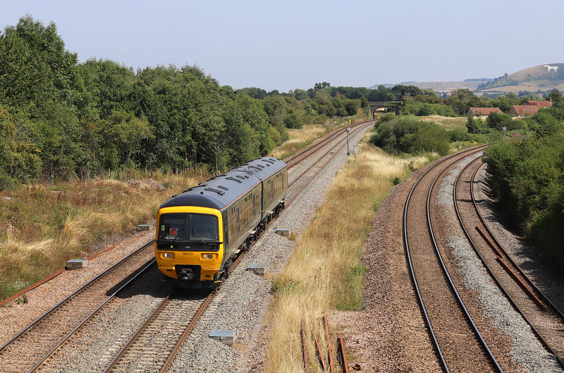 165131, 12.49 Swindon-Frome, Fairwood Junction, Westbury.
