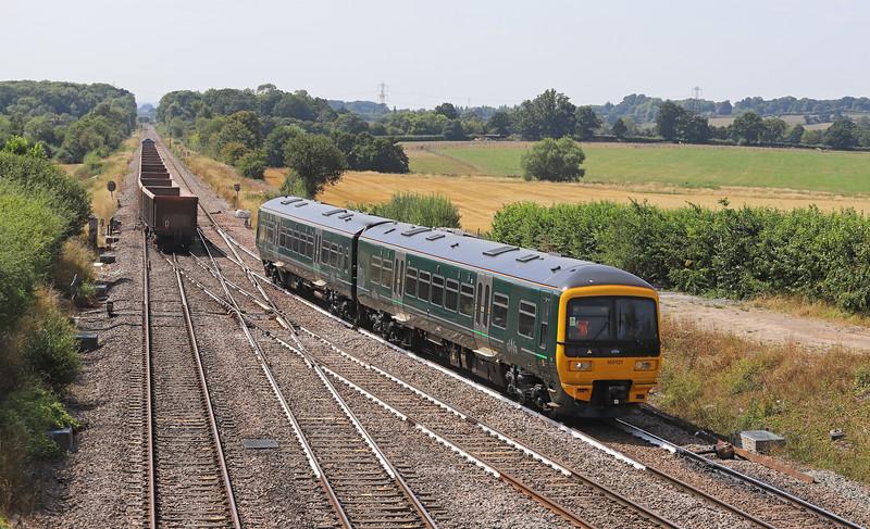 165131, 14.10 Frome-Swindon, Fairwood Junction, Westbury, 6-8-18. 59002, 12.25 Avonmouth Hanson's Siding-Whatley Quarry.