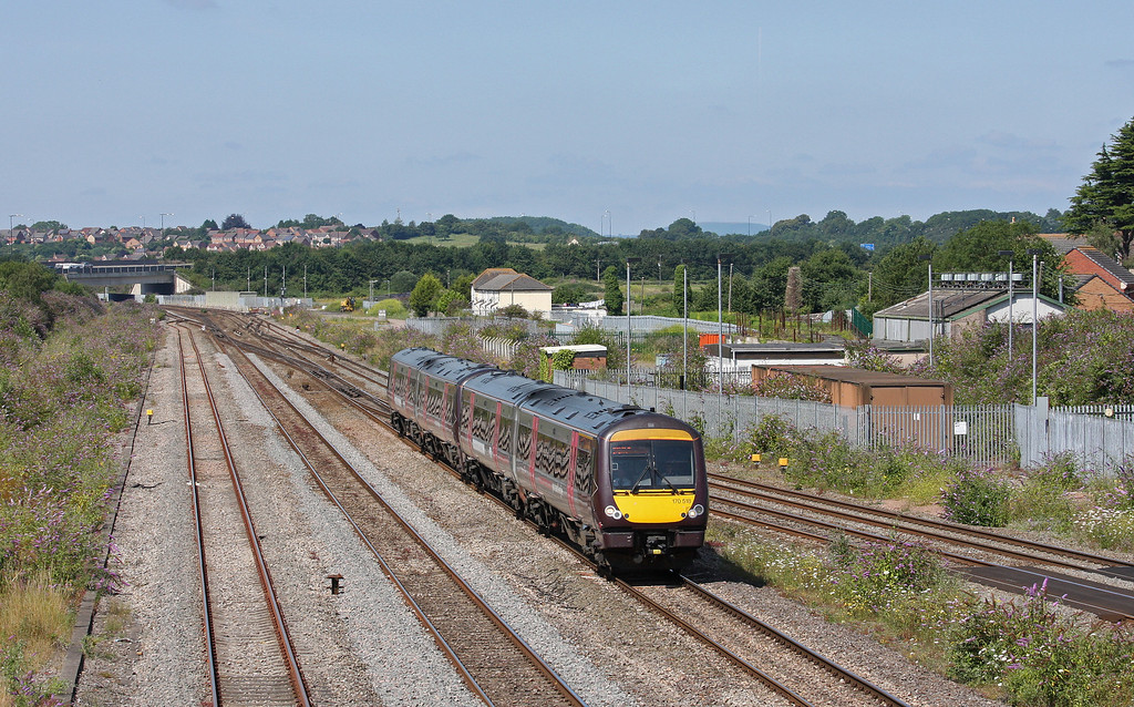 170518/170116, 10.45 Cardiff Central-Nottingham,  Severn Tunnel Junction, 22-7-14.