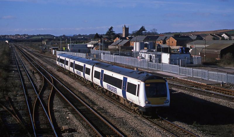 170398, Nottingham-Cardiff Central, Severn Tunnel Junction, 4-2-03.